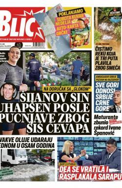 Blic Broj 8023 21 Jun 2019 Novinarnica Sve Novine Na