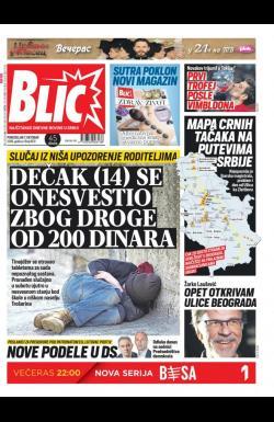 Blic Broj 8131 7 Okt 2019 Novinarnica Sve Novine Na