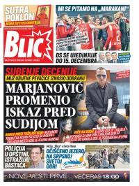 Blic Broj 8187 2 Dec 2019 Novinarnica Sve Novine